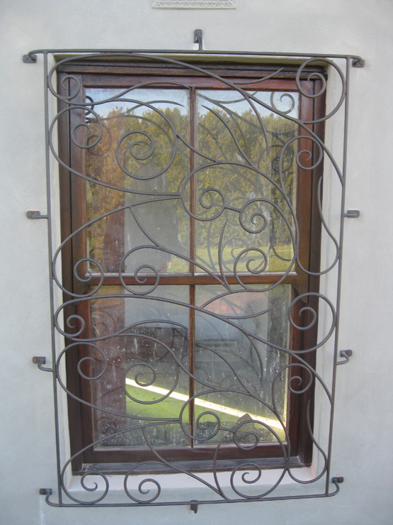 Burglar bars gallery creative designs for Window protector designs
